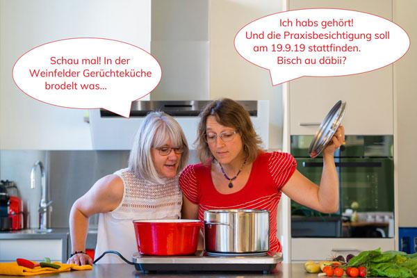 Shirley Grelli und Silvia Niederberger