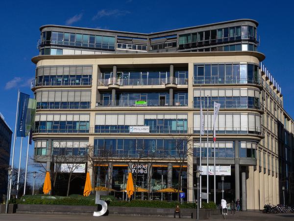 Kölner Büro im Startplatz innen