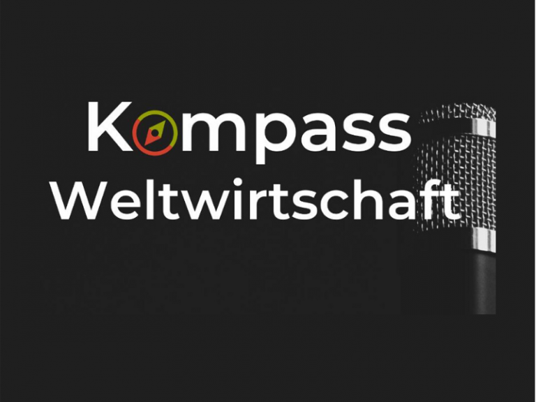 "PowerShift-Podcast ""Kompass Weltwirtschaft"" Cover"