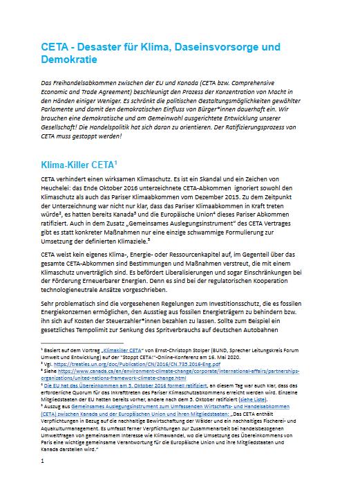 CETA-Flyer lokale Bündnisse