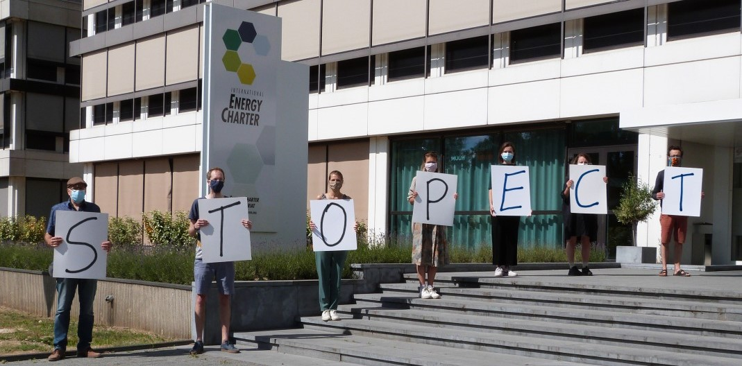"""Stop ECT"" Protest Juni 2020"