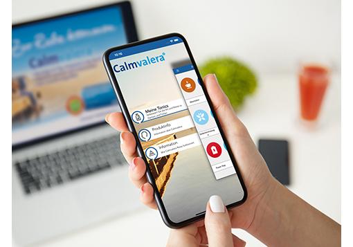 Klingt entspannend: Die Calmvalera Relax App