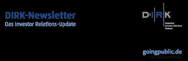 DIRK-Newsletter - Das Investor Relations-Update