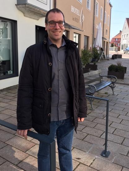 Andreas Reiner, Energie- und Radverkehrsbeauftragter der Stadt Donauwörth; Foto: A. Feist