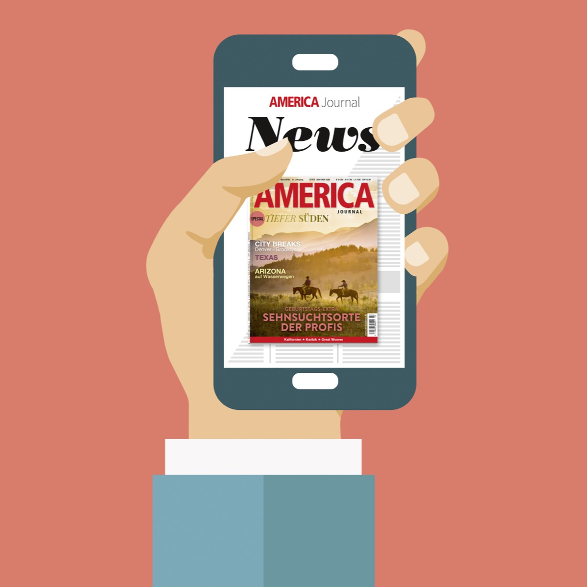 Logo-Header AMERICA Newsletter