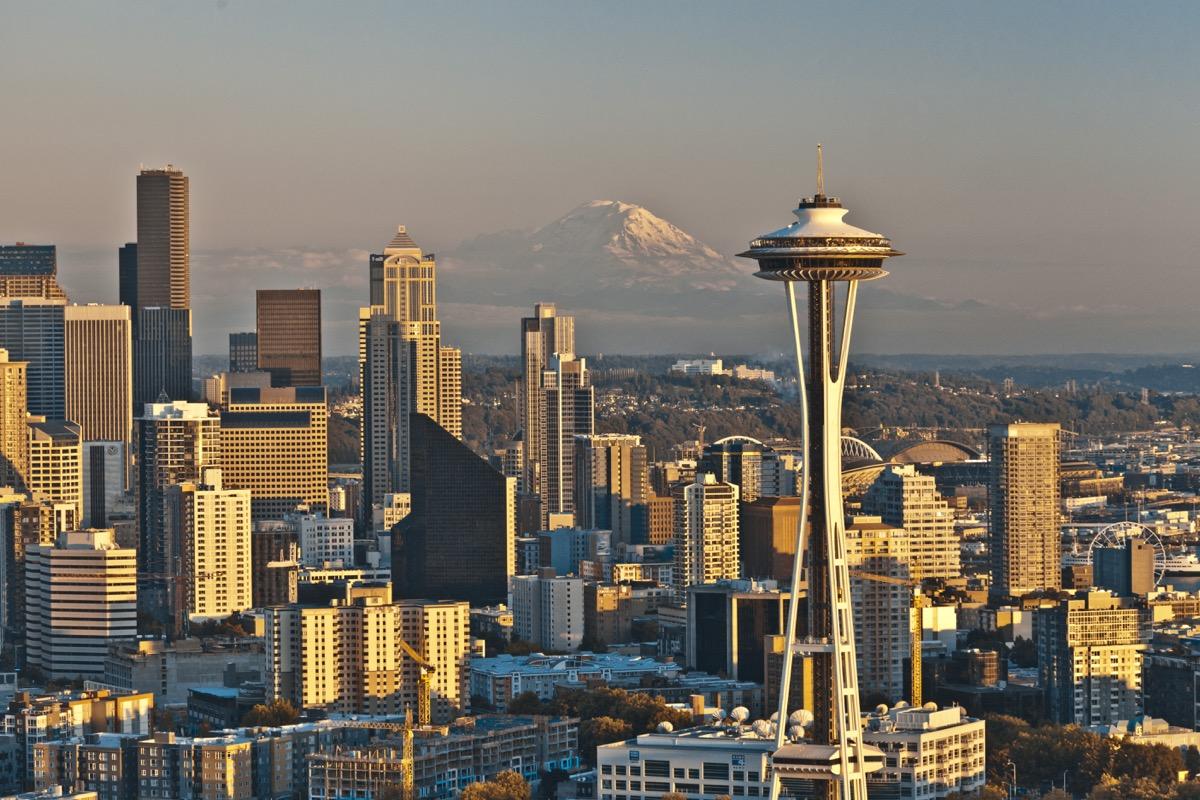 Beliebte Filmkulisse: die Skyline von Seattle.