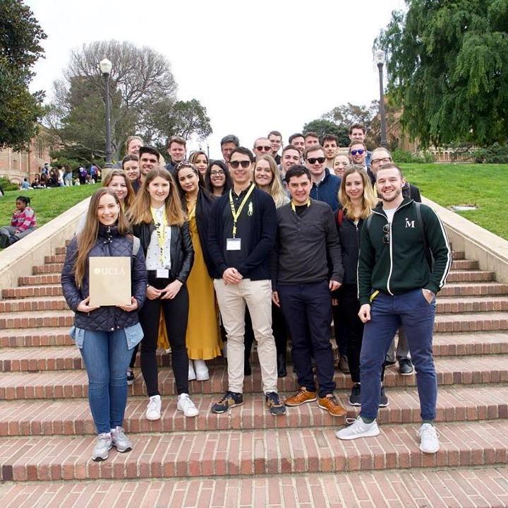 UCLA University Visit