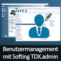 Rollen- und Benutzerverwaltung mit Softing TDX.admin