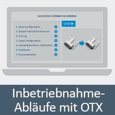 Flexible Inbetriebnahme-Abläufe mit OTX