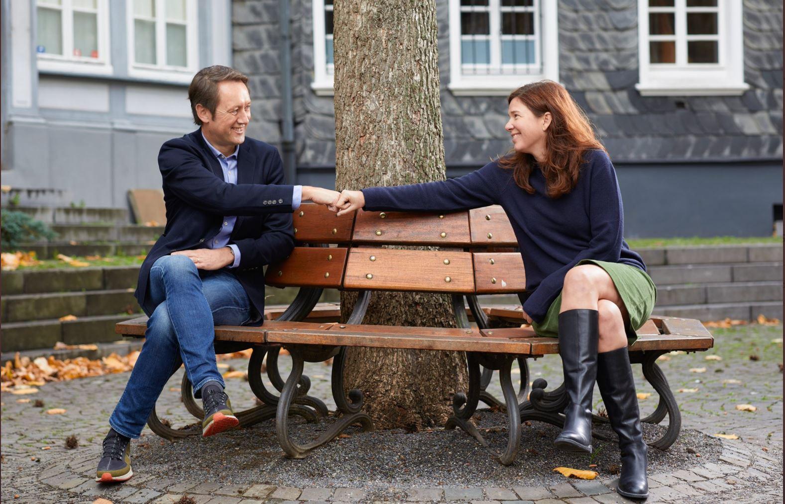 Dr. Ophelia Nick und Roland Schüren