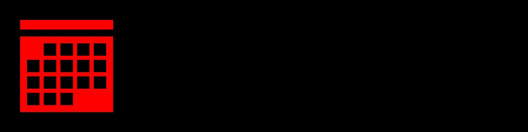 """Piktogramm eines Kalenderblatts. Daneben steht """"Verstaltungen zur Digitalisierung in der Wohlfahrt""""."""