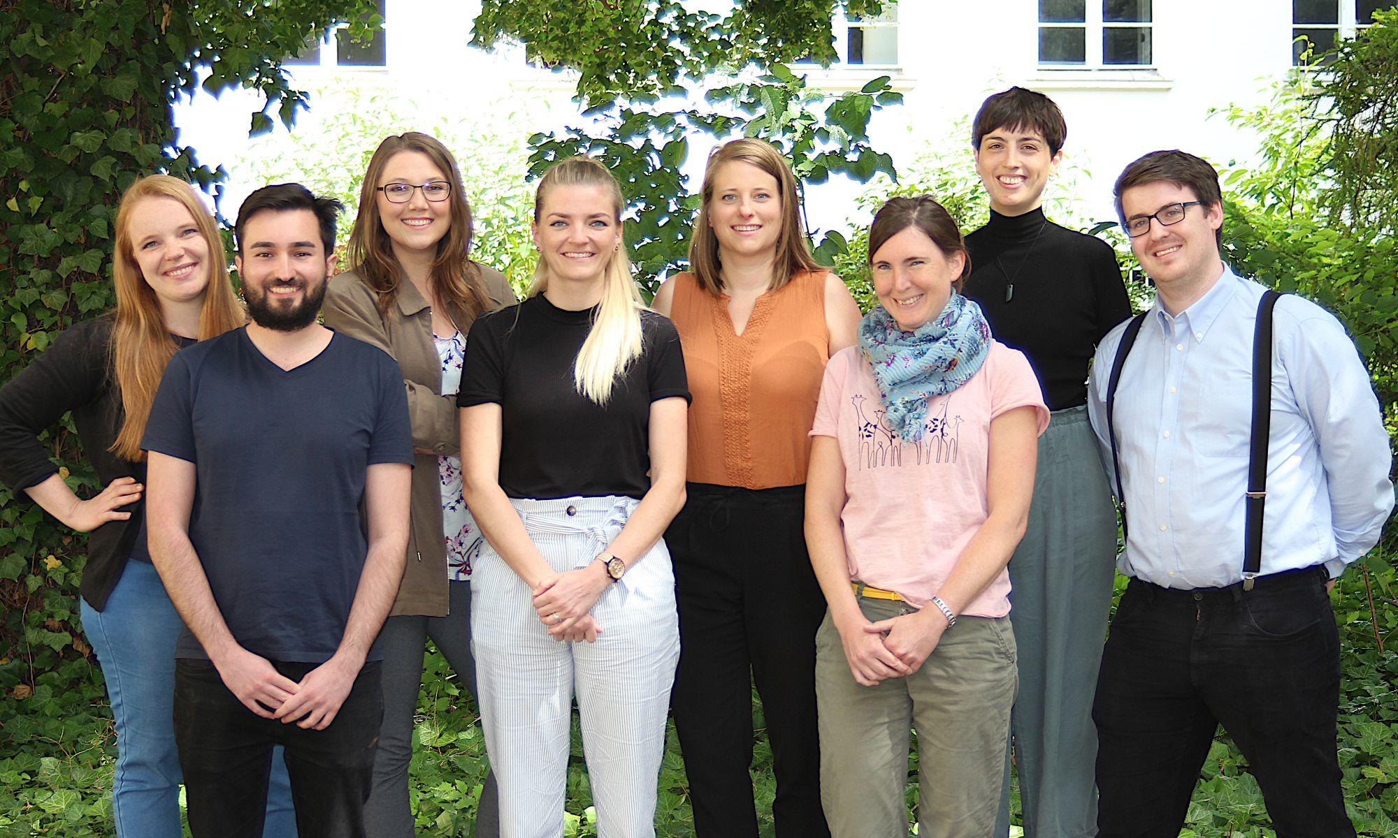 Foto des Teams der Kompetenzzentren Digitalisierung