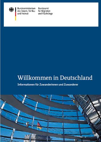 """Cover """"Willkommen in Deutschland"""""""