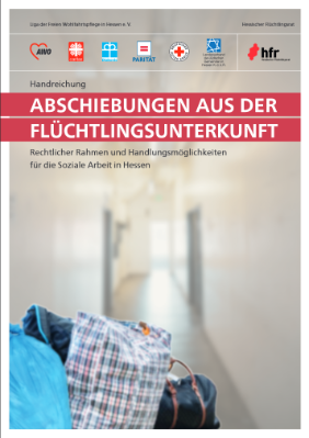 "Cover Handreichung ""Abschiebungen aus der Flüchtlingsunterkunft"""