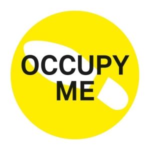 Occupy me sticker