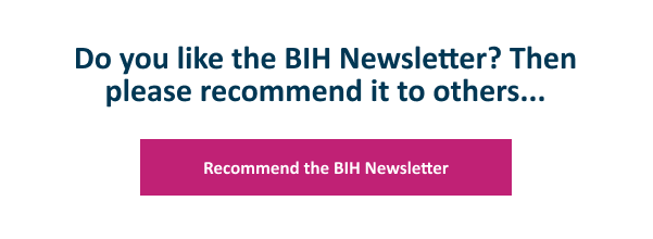 Recommend the BIH Newsletter