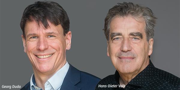 Porträts Georg Duda und Hans-Dieter Volk