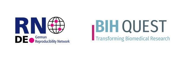 Logos GRN und BIH QUEST Center