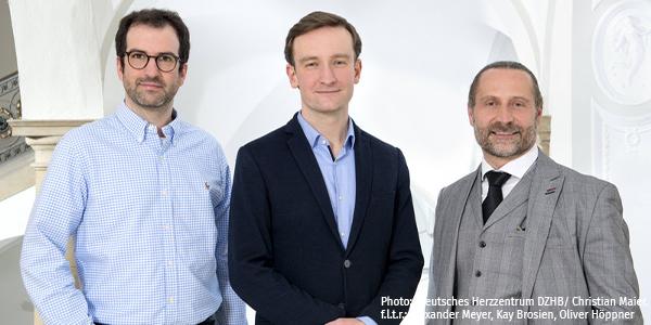 f.l.t.r.: Alexander Meyer, Kay Brosien, Oliver Höppner