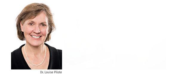 Porträt Dr. Louise Pilote
