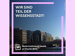 Plakat Wissensstadt Berlin