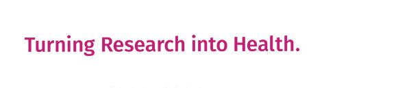BIH Slogan Turning Research into Health