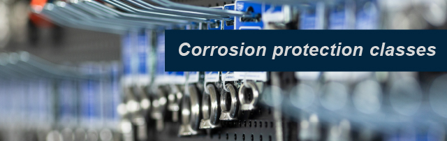 Corrosion protection classes