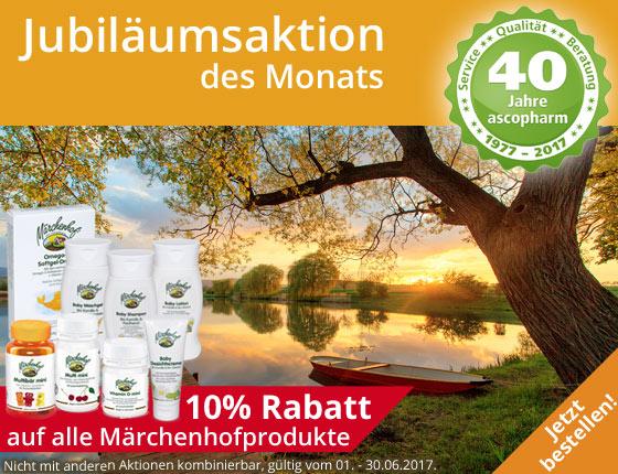 Aktin des Monats 10% auf Märchenhofprodukte