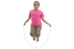 Seilspringen und Jonglieren