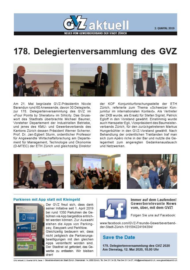 GVZ aktuell 2. Quartal 2020