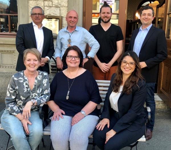 Der neu formierte WZN-Vorstand