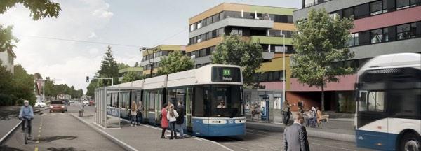 Tramprojekt Zürich Affoltern