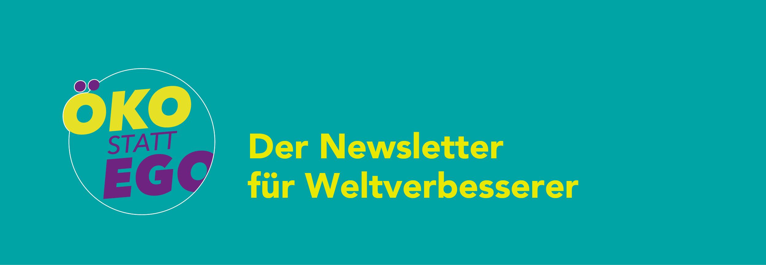 Header Newsletter Öko statt Ego