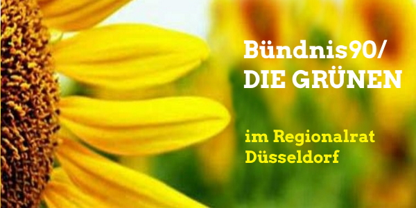 Logo B90 / Die Grünen im Regionalrat Düsseldorf