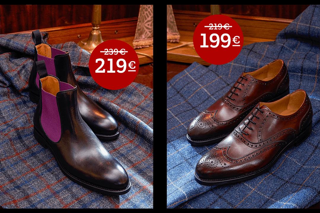 Boots und Classic Schuhe