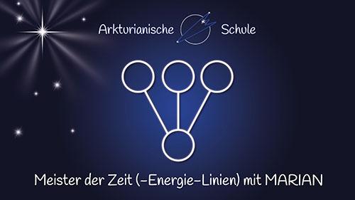 """Seminar """"Meister der Zeit (- Energie-Linien)"""" mit MARIAN"""