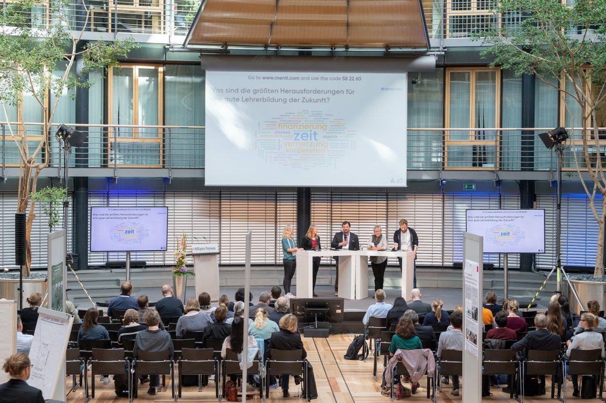 Eindrücke von einer Fachtagung zur Lehrkräftebildung in Berlin.