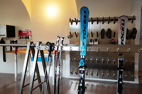 Ski- und Bikeraum