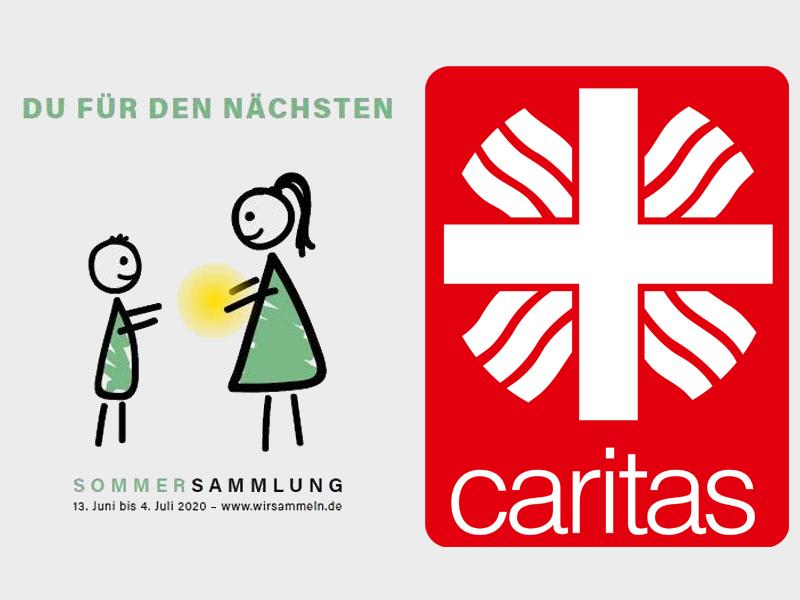 Caritas Sommersammlung
