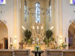 Innenraum Kirche St. Franziskus