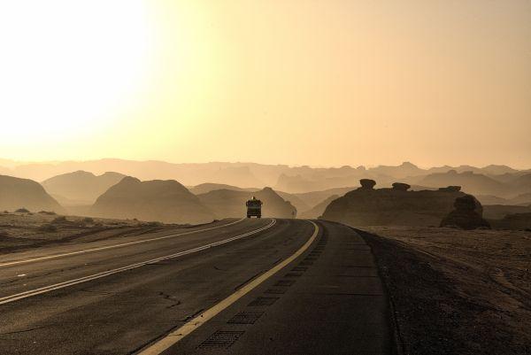 Wüste in Saudi-Arabien