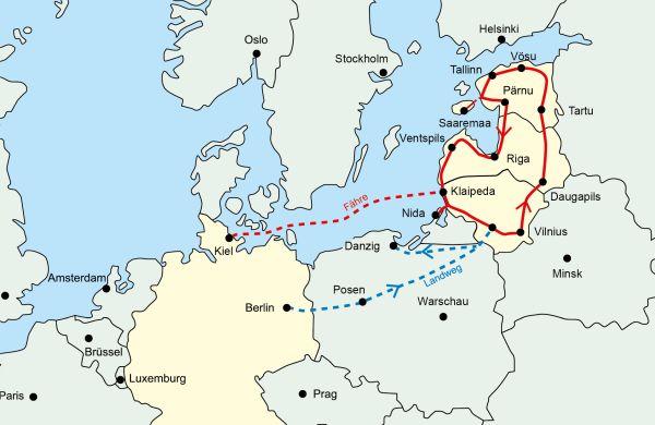 Baltikumkarte