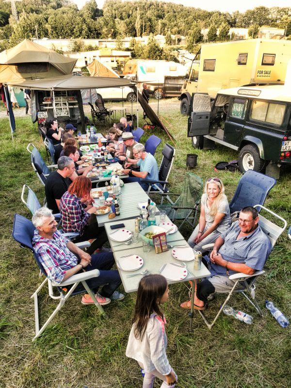 Camp Area auf der Abenteuer und Allrad-Messe