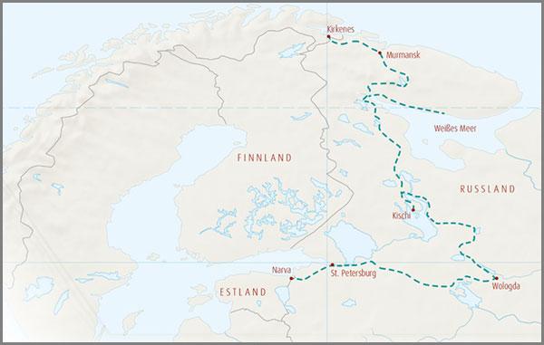 Russland Polar Allradreise