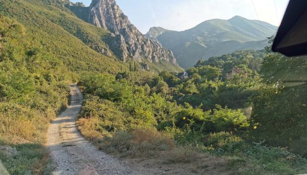 Küstenstraßen in Montenegro und Albanien