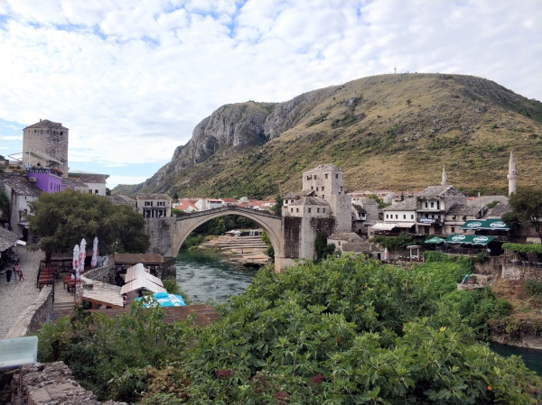 "Brücke ""Stari Most"" in Mostar Kroatien"
