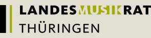 Logo Landesmusikrat Thüringen