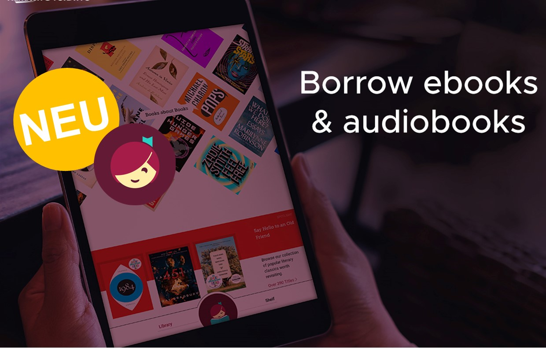 Borrow eBooks on Overdrive