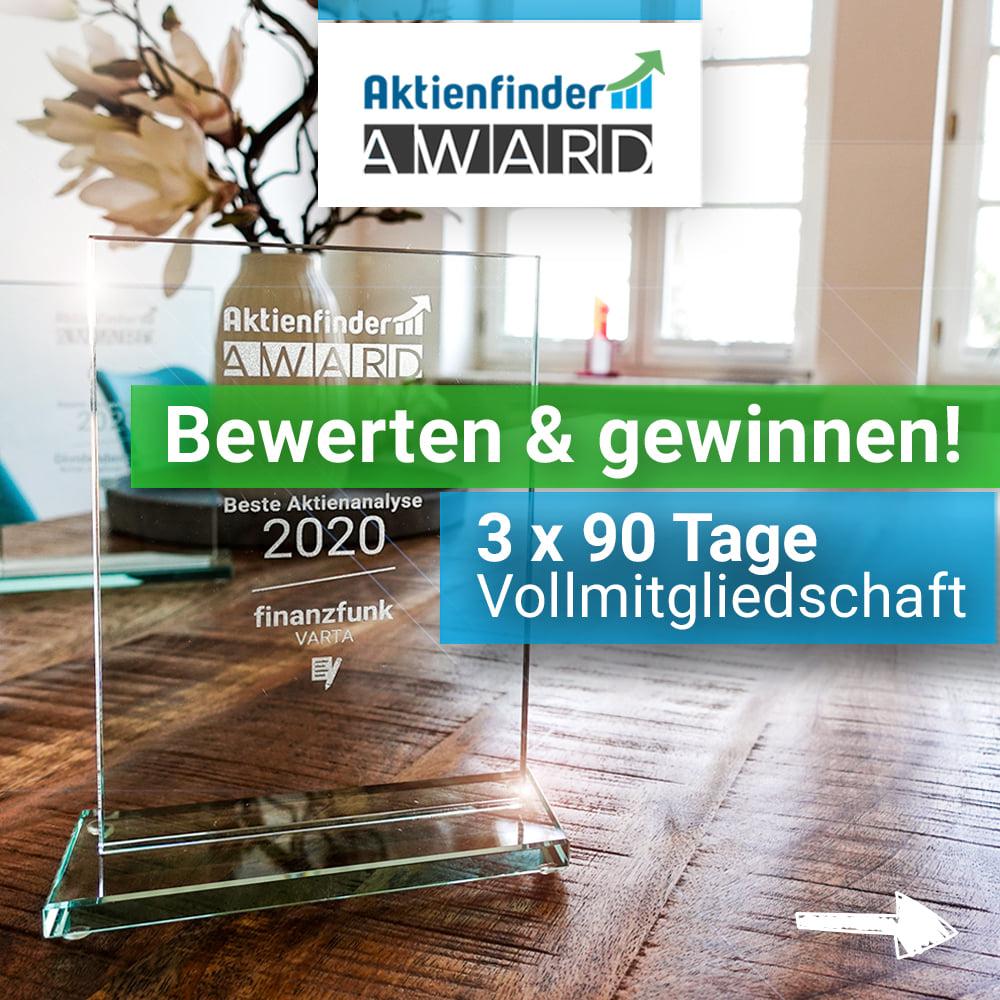 Aktienfinder-Award - Abstimmen