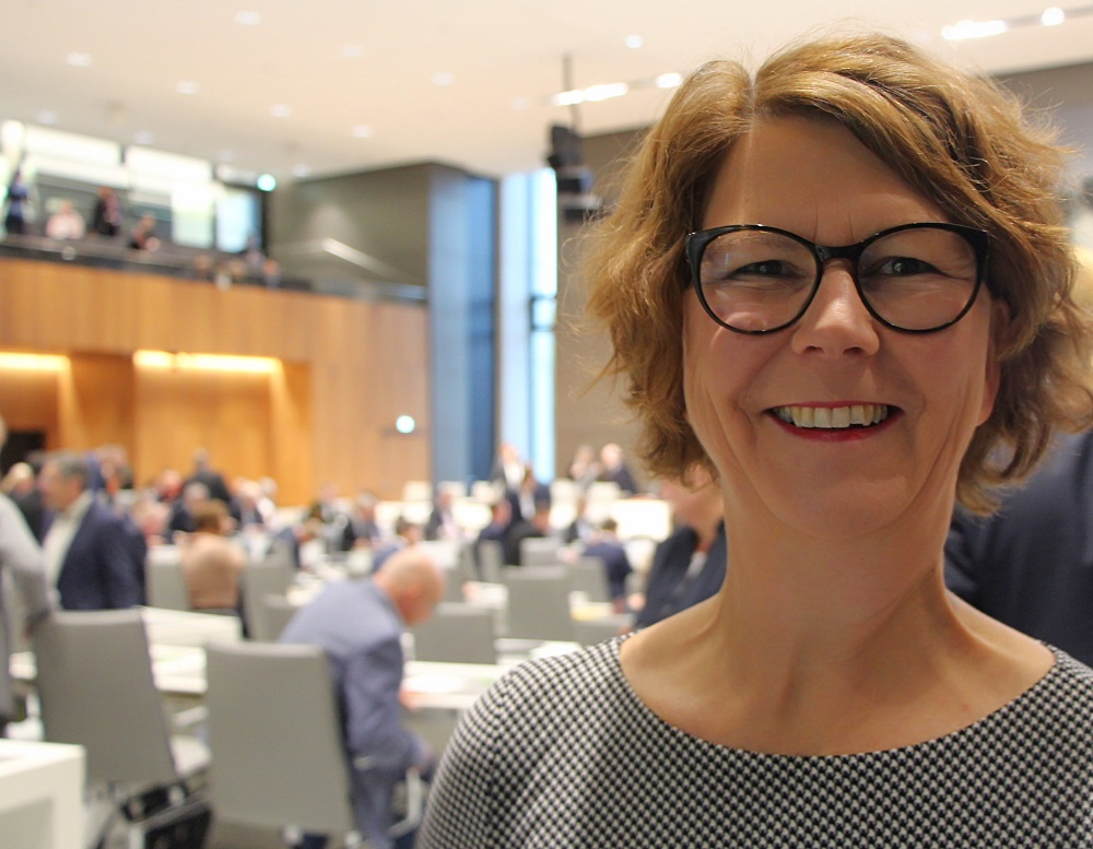 Susanne Menge im Plenum